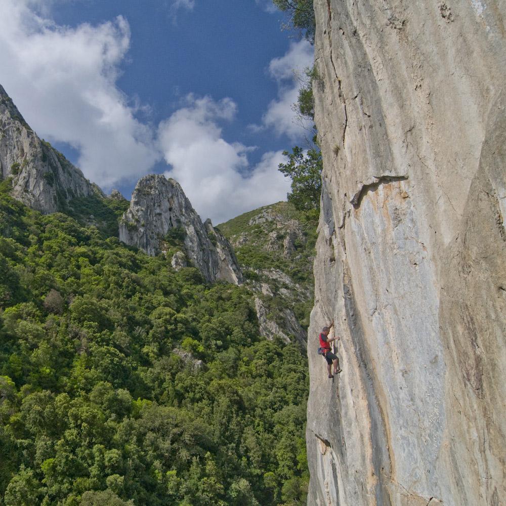 Lino cianciotto arrampicata sardegna