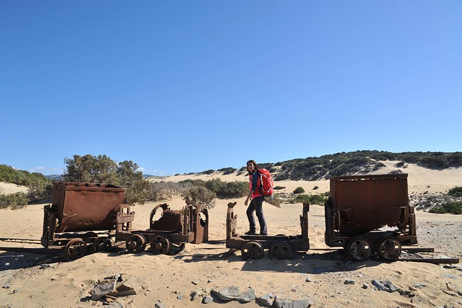 Miniere in Sardegna dune di Piscinas