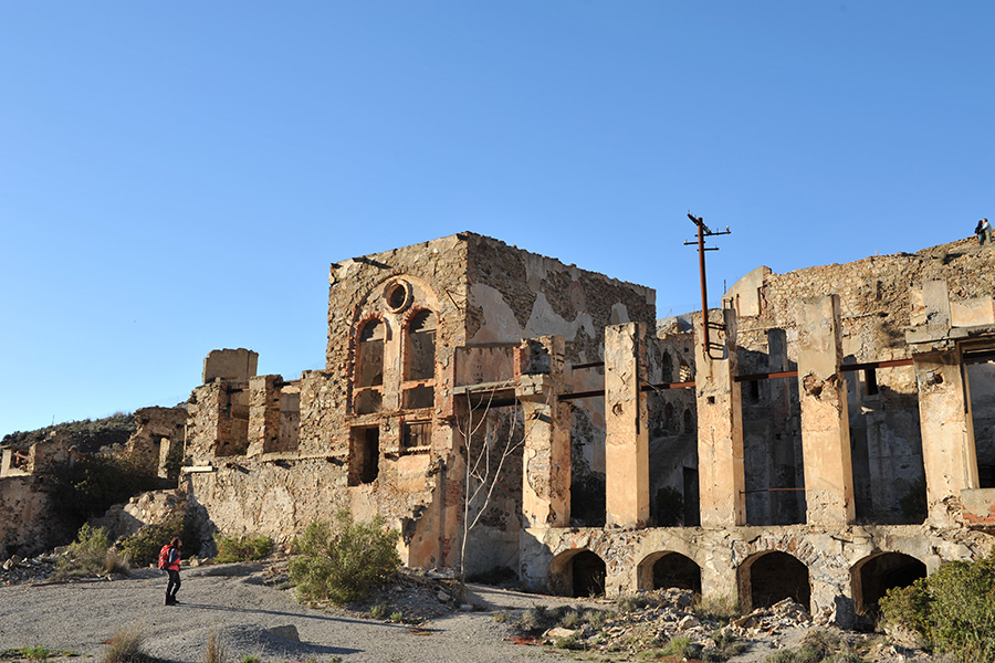 Villaggi minerari Sardegna e miniere abbandonate in sardegnaIngurtosu-laveria Brassey-sud-ovest-sardegna