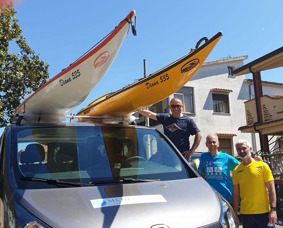 la rotta dei tonni in kayak