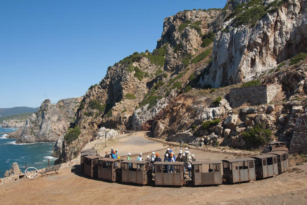 Costa delle miniere galleria Henry Buggerru