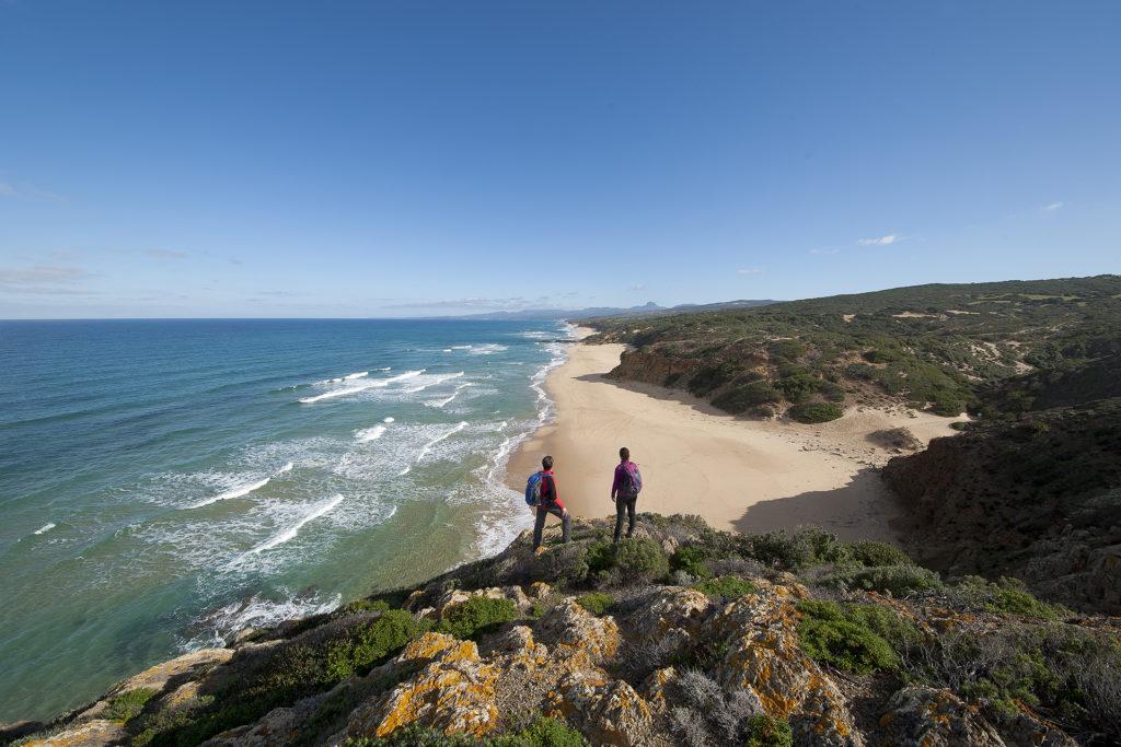 Costa delle miniere lino cianciotto spiaggia